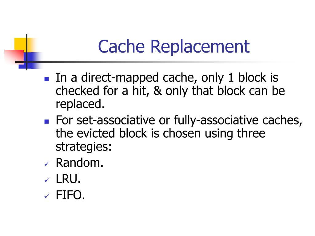 Cache Replacement