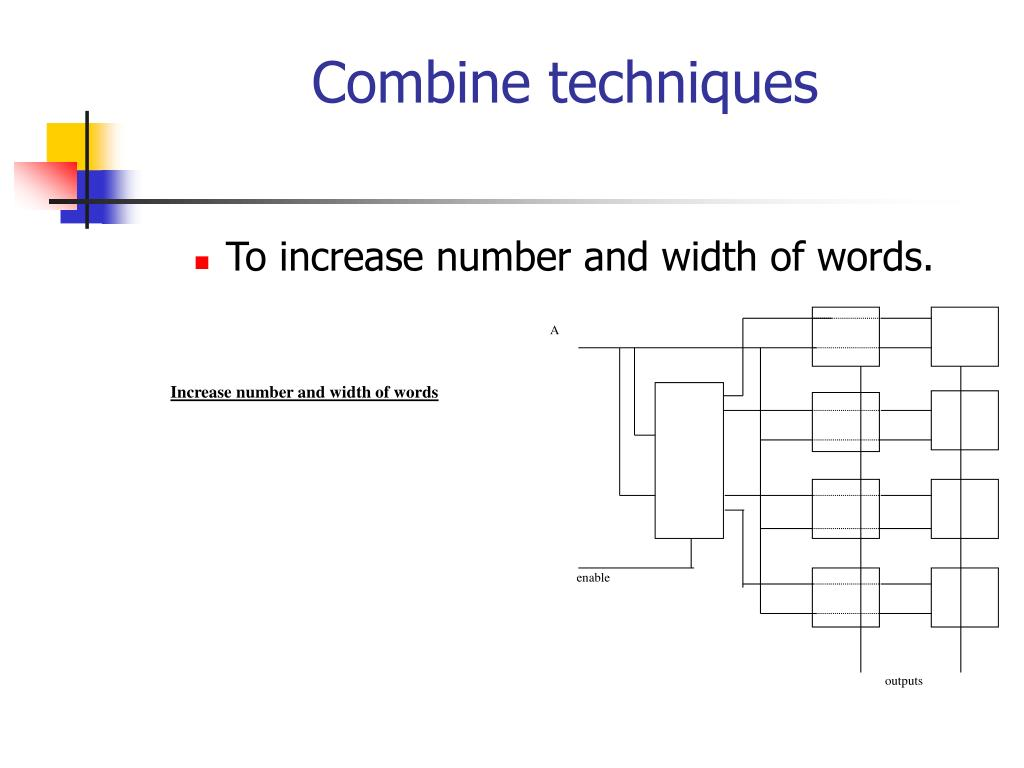 Increase number and width of words