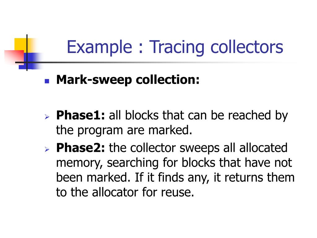 Example : Tracing collectors
