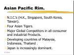 asian pacific rim