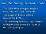 weighted voting systems cont d1
