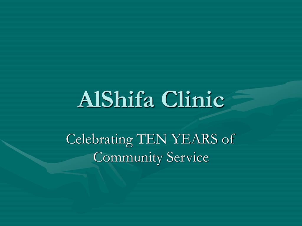 AlShifa Clinic