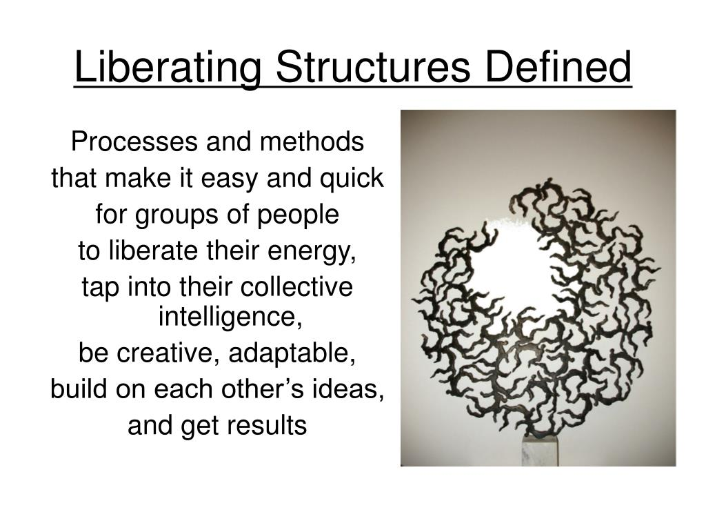 Liberating Structures Defined