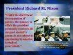 president richard m nixon