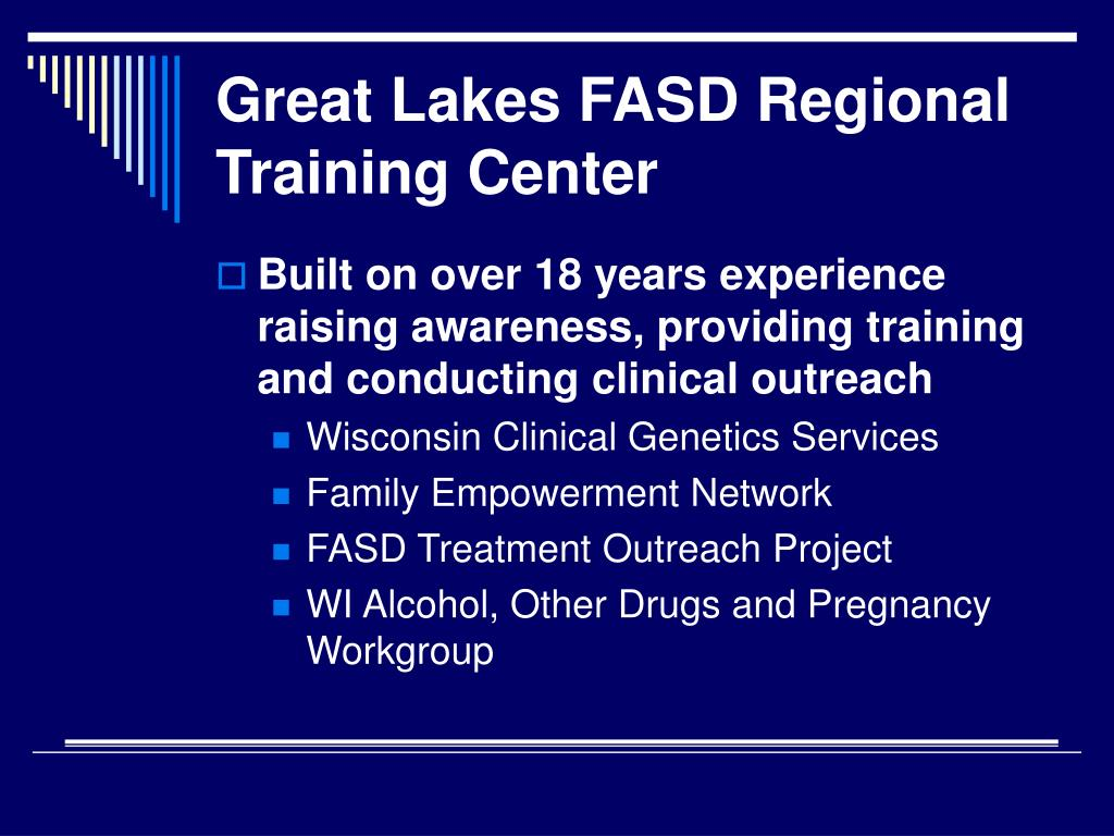 Great Lakes FASD Regional Training Center