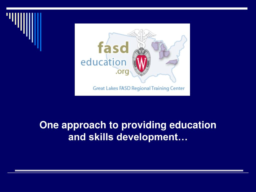 One approach to providing education and skills development…
