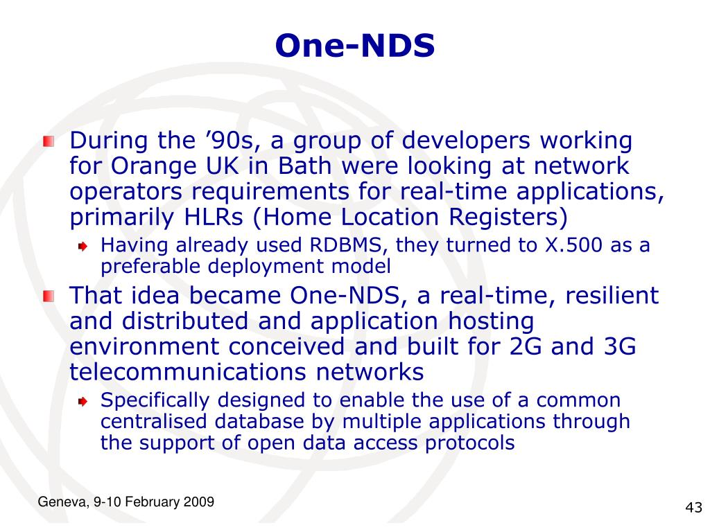 One-NDS