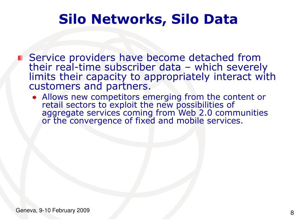 Silo Networks, Silo Data