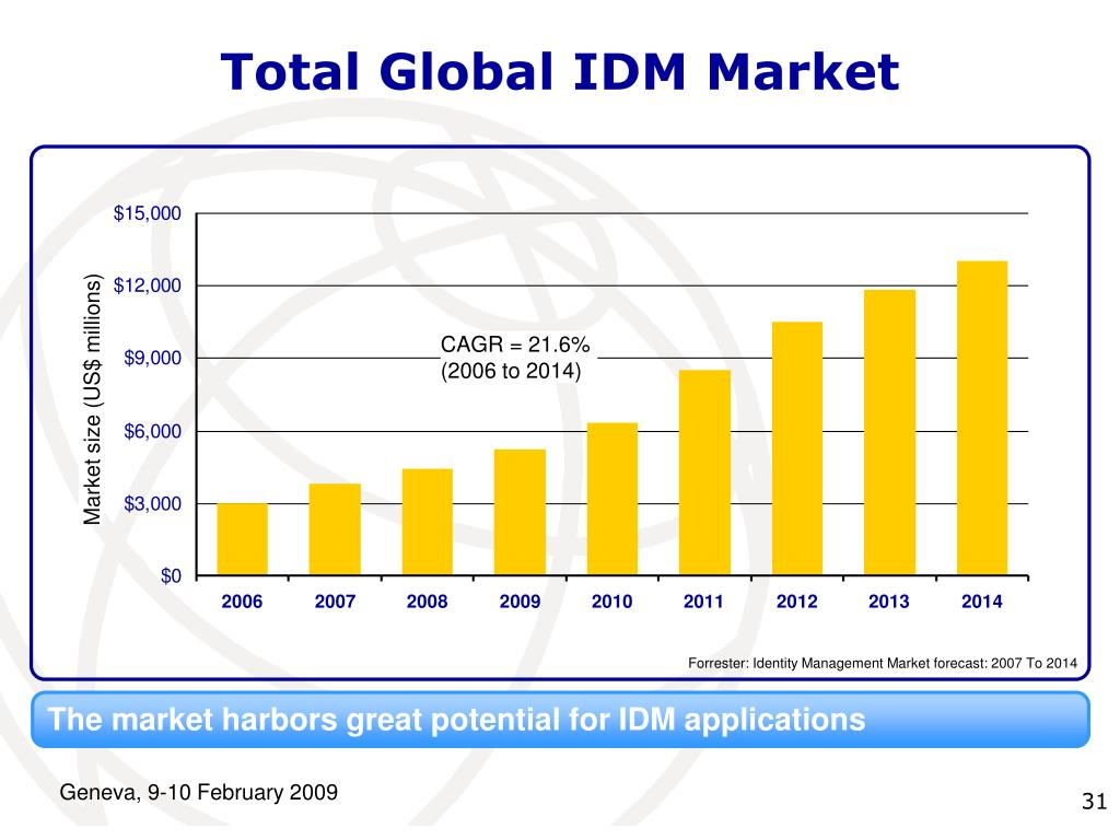 Total Global IDM Market