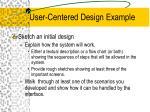 user centered design example30