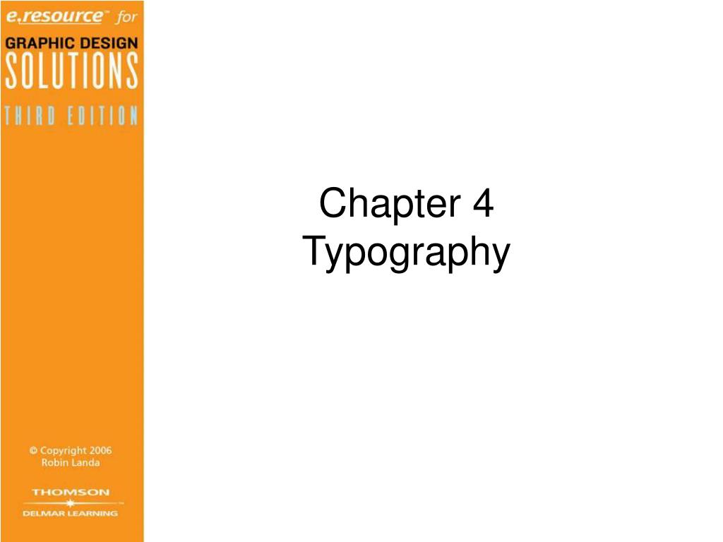 chapter 4 typography l.