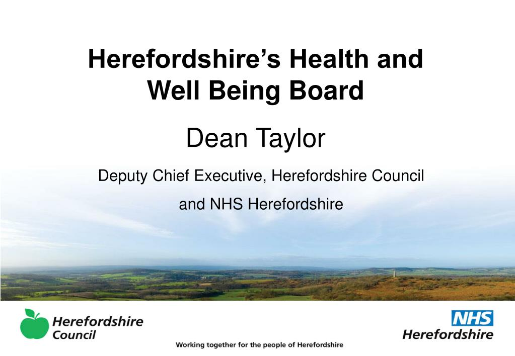 Herefordshire's Health and