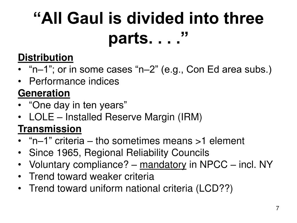 """All Gaul is divided into three parts. . . ."""