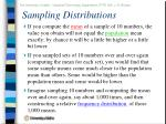 sampling distributions13