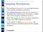sampling distributions39