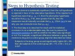 steps to hypothesis testing61