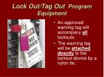lock out tag out program equipment14
