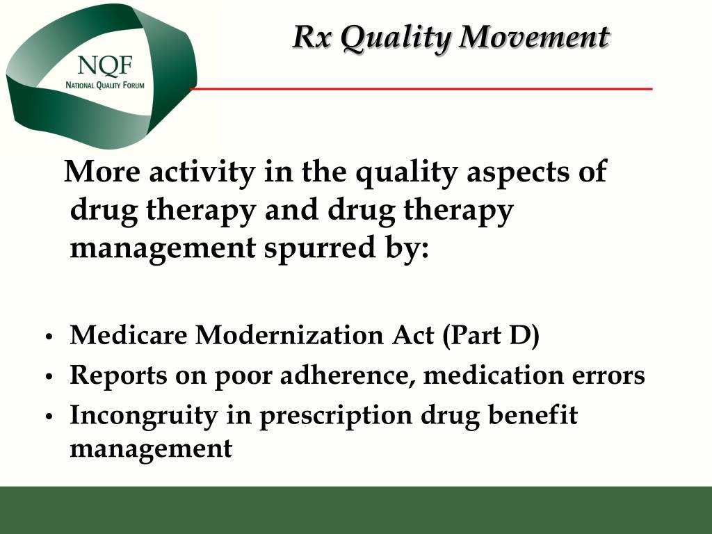 Rx Quality Movement