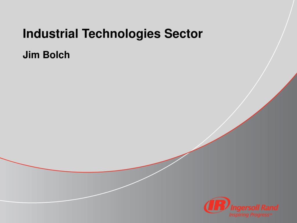 industrial technologies sector l.