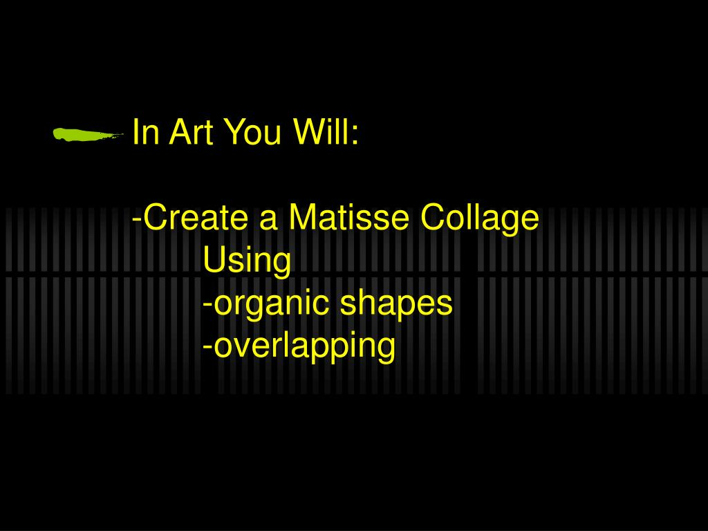 In Art You Will: