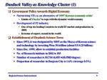 daeduck valley as knowledge cluster 1