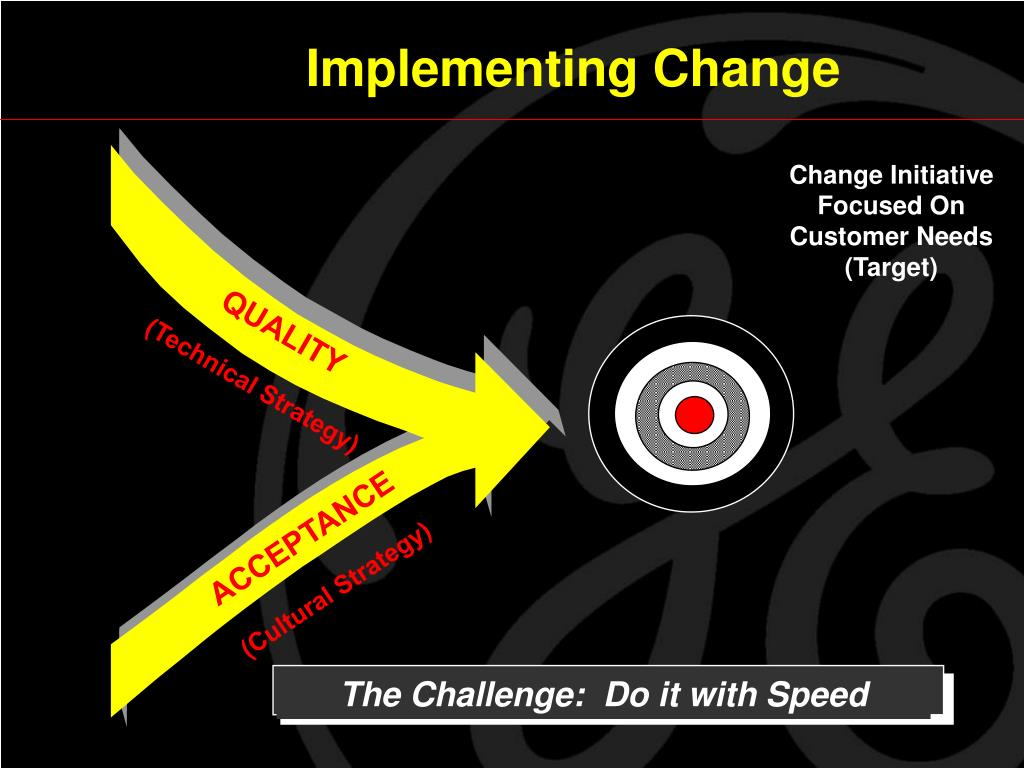 The Challenge:  Do it with Speed