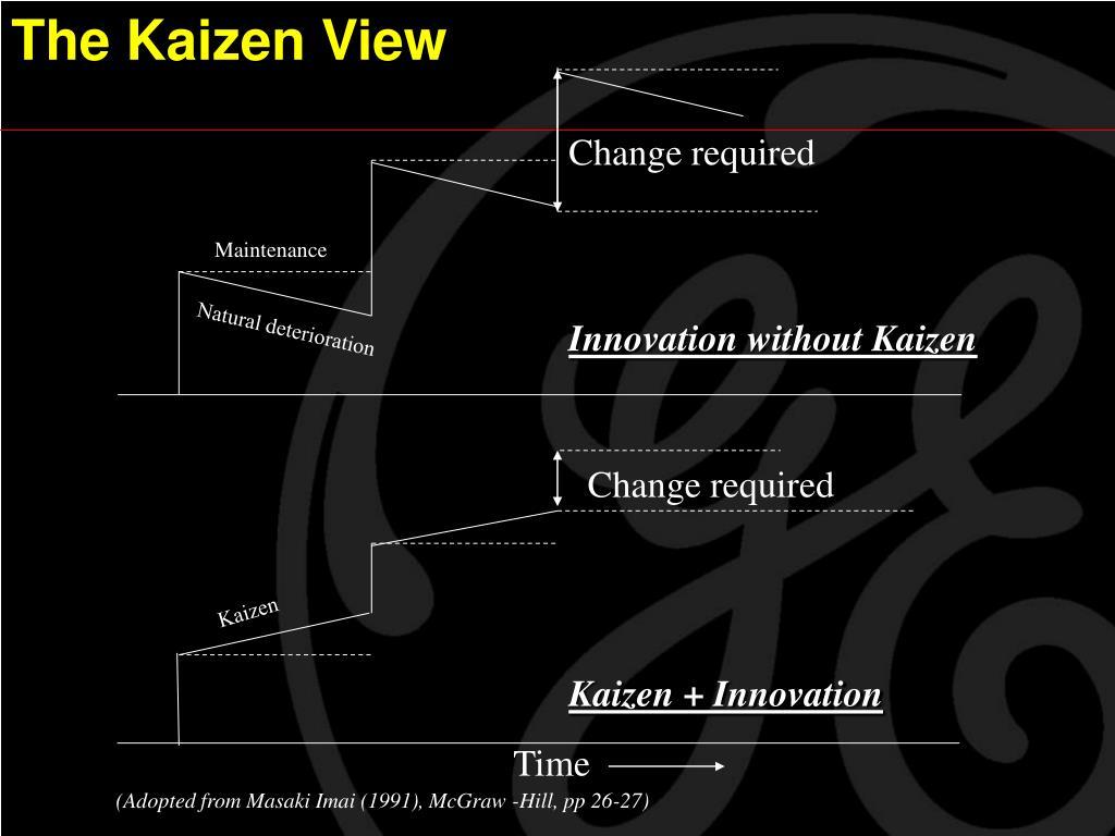 The Kaizen View