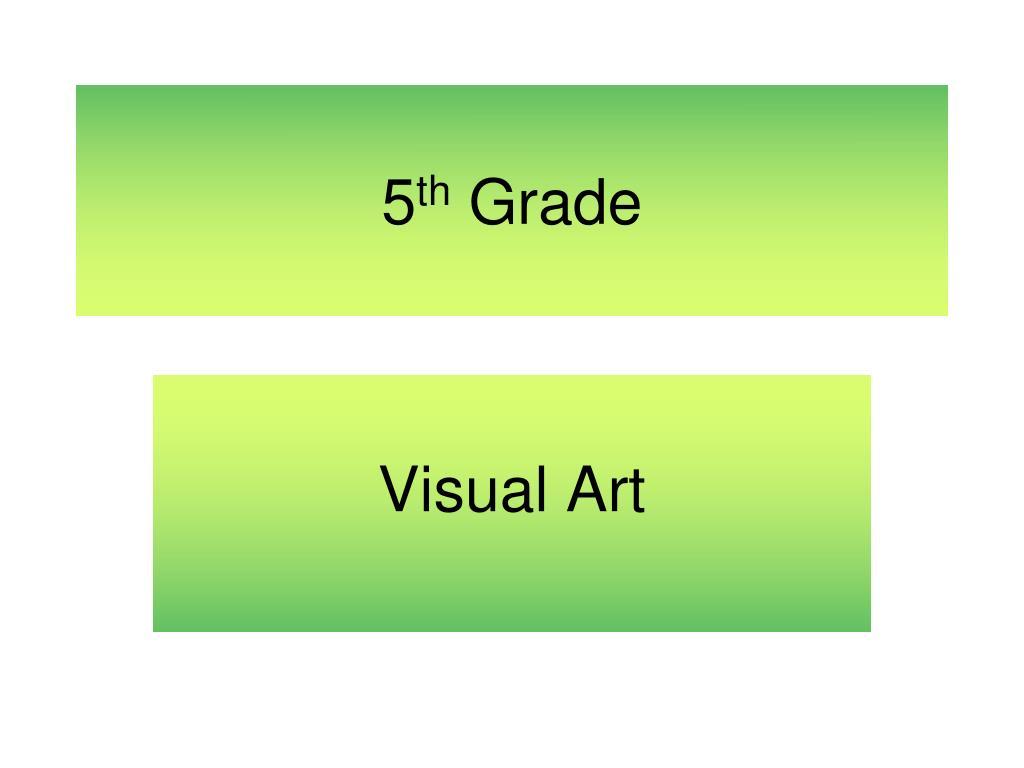 5 th grade l.