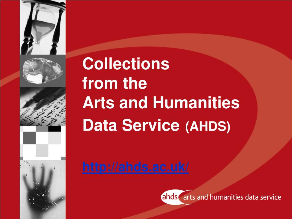 collections from the arts and humanities data service ahds http ahds ac uk l.