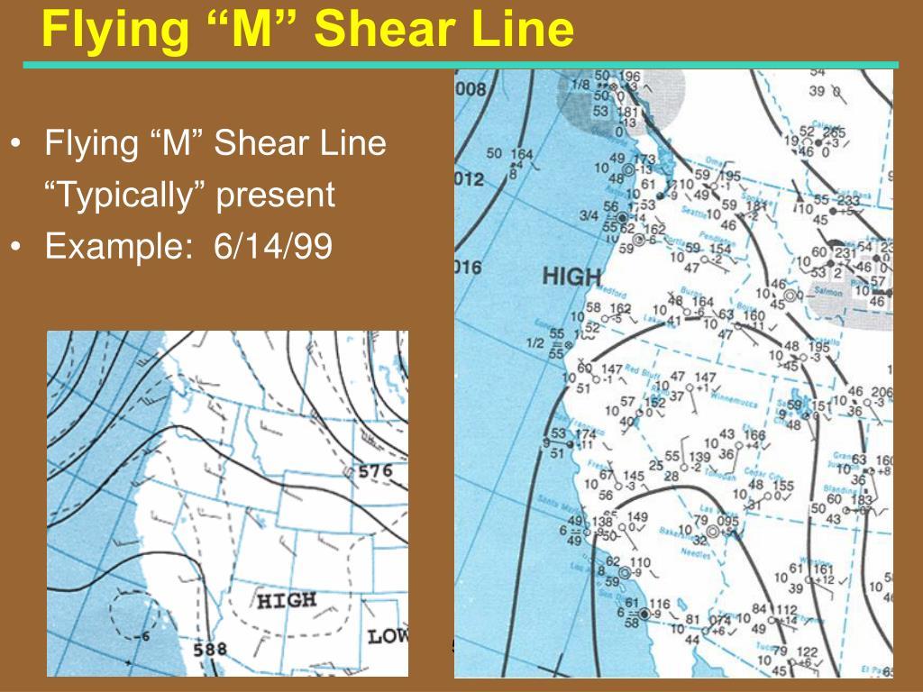 "Flying ""M"" Shear Line"
