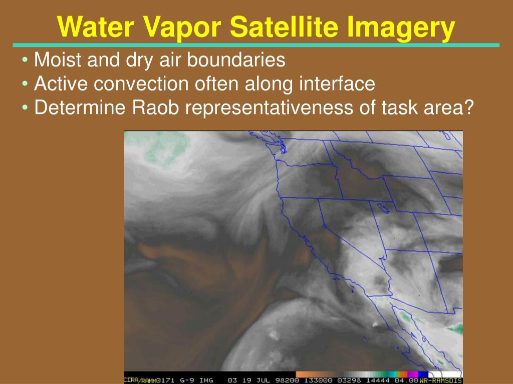 Water Vapor Satellite Imagery