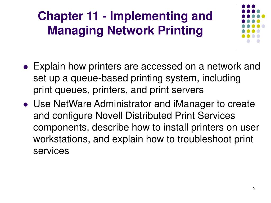 PPT - Guide to Novell NetWare 6 0 Network Administration
