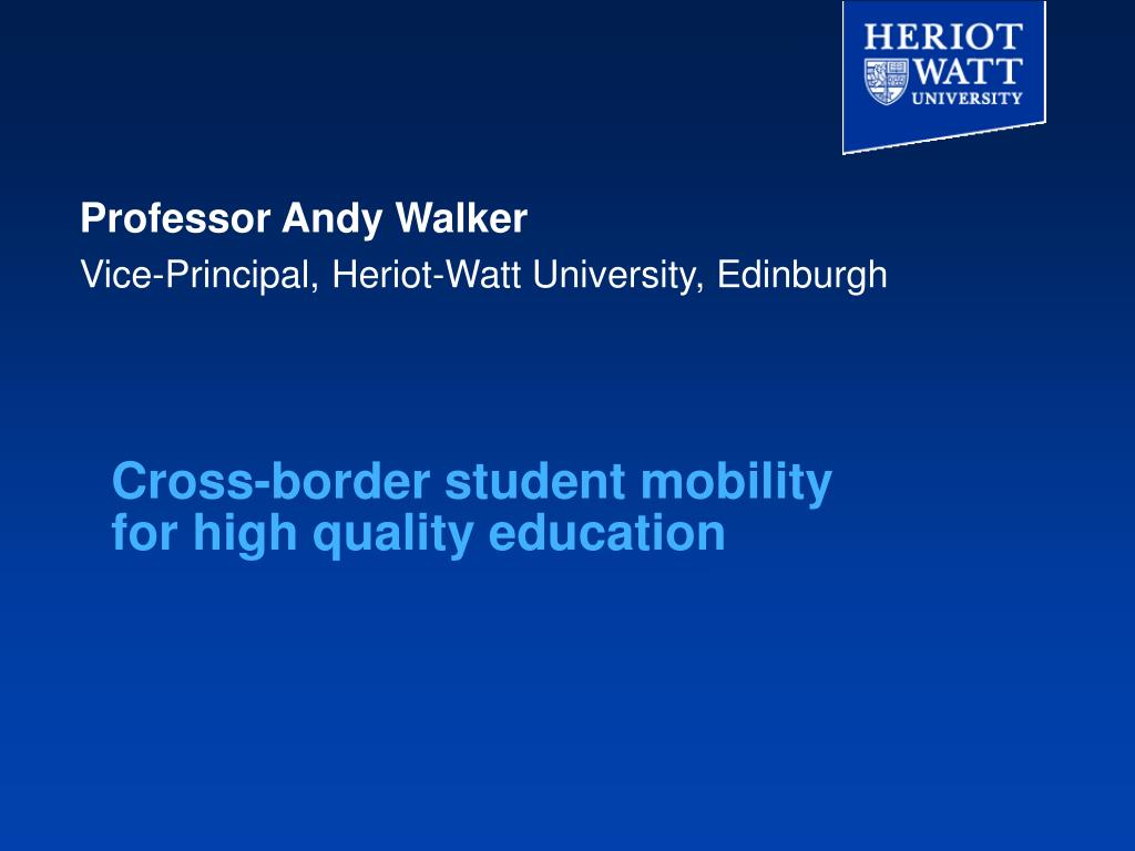 cross border student mobility for high quality education