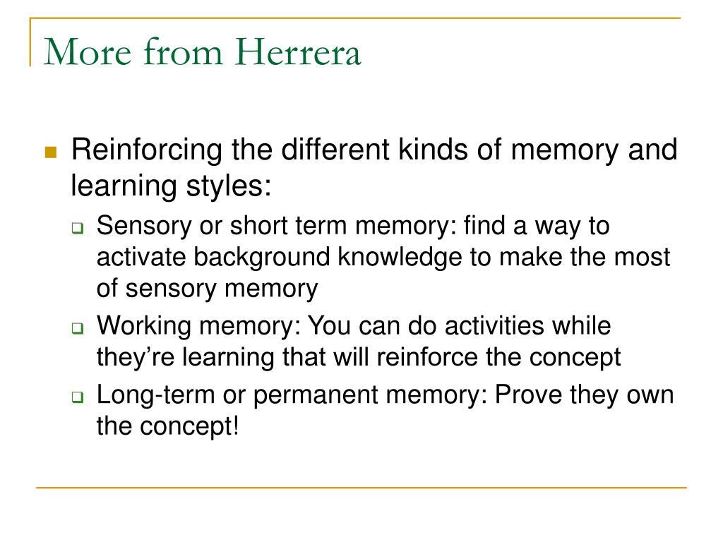 More from Herrera
