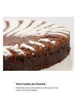 tarta fondou du chocolat