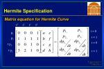 hermite specification