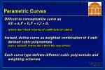 parametric curves14