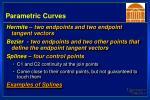 parametric curves15