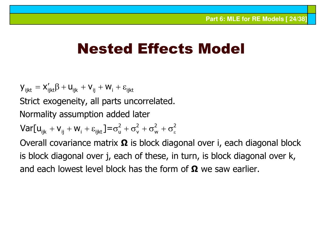 Nested Effects Model