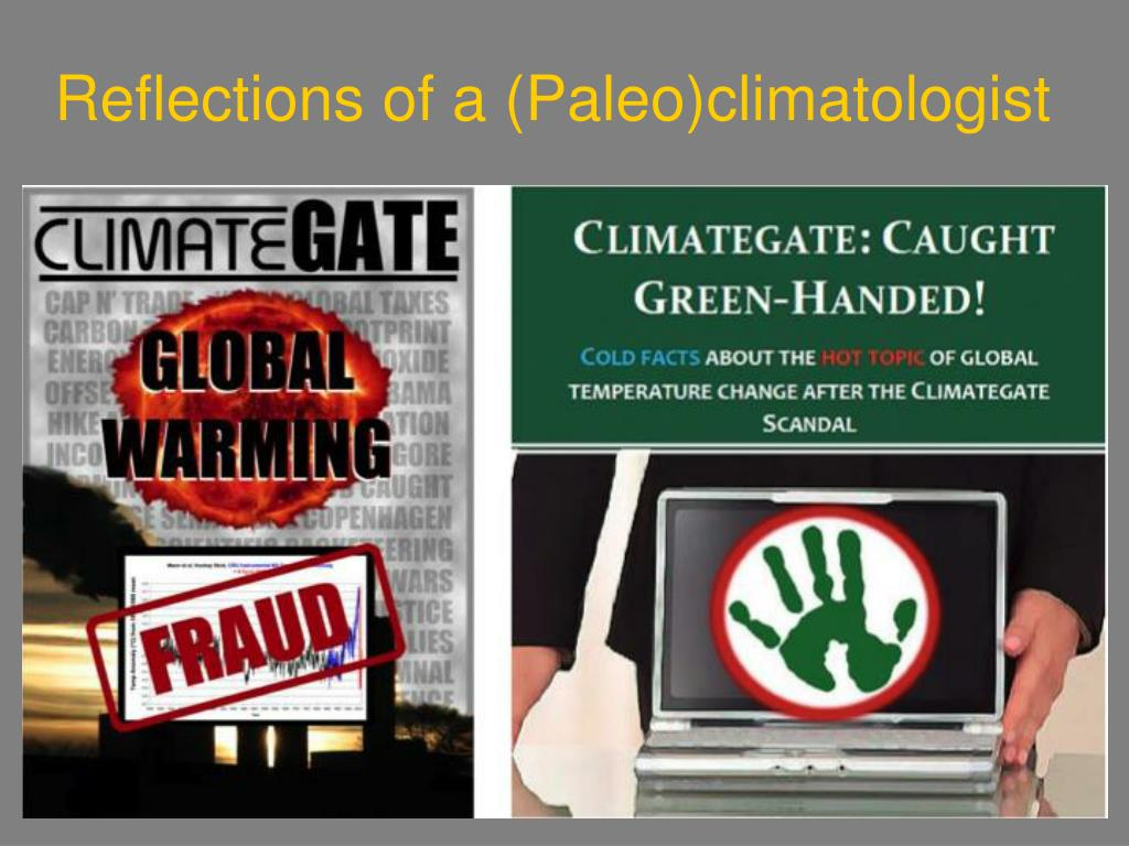 Reflections of a (Paleo)climatologist
