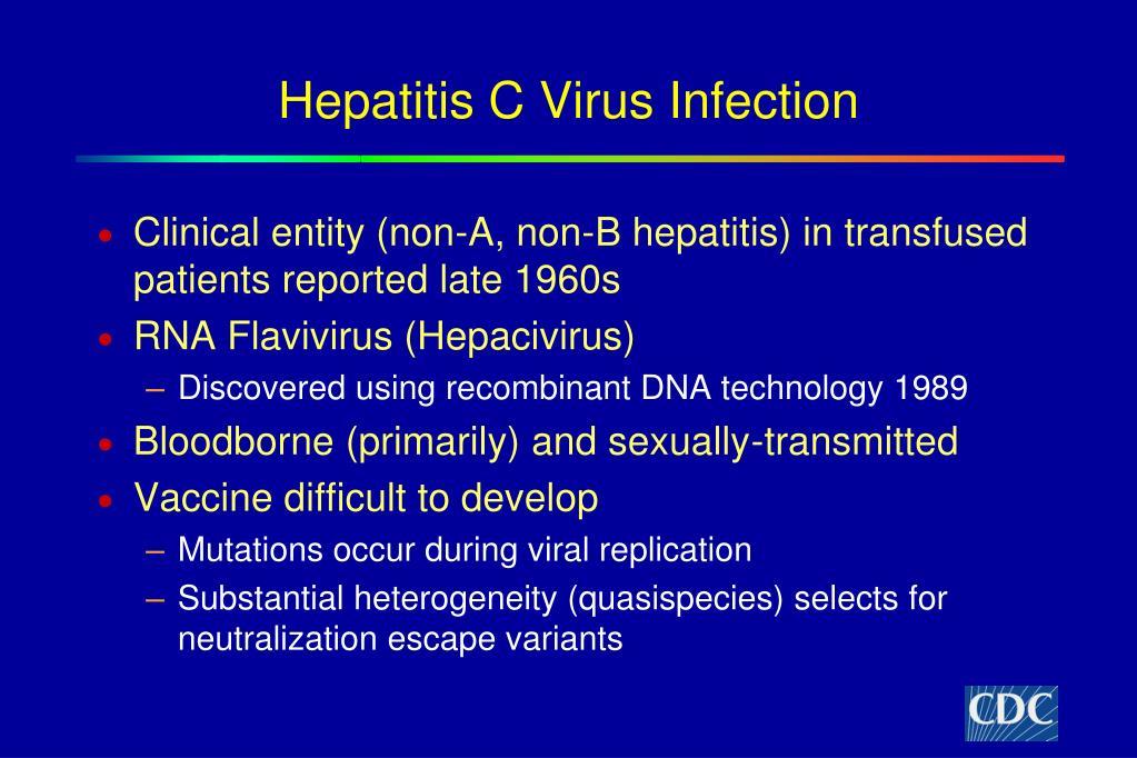 Hepatitis C Virus Infection
