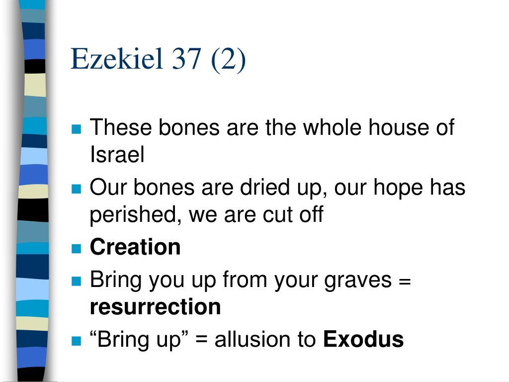 Ezekiel 37 (2)