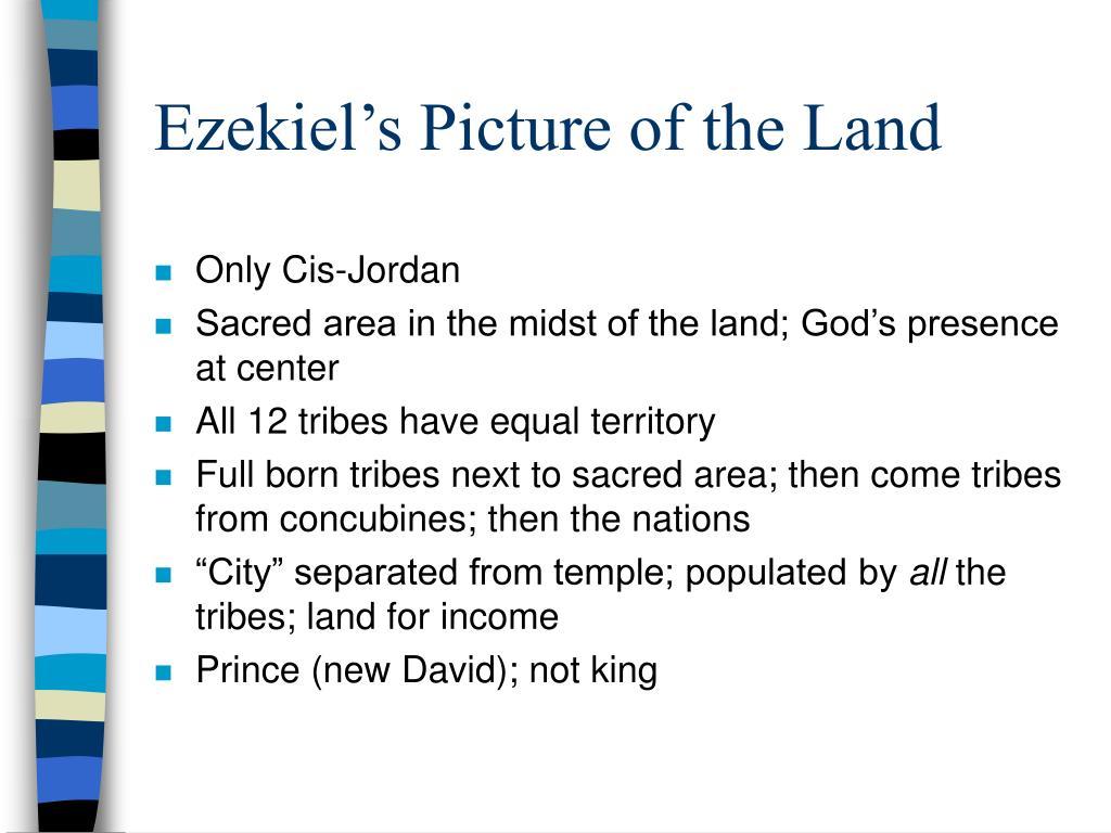 Ezekiel's Picture of the Land