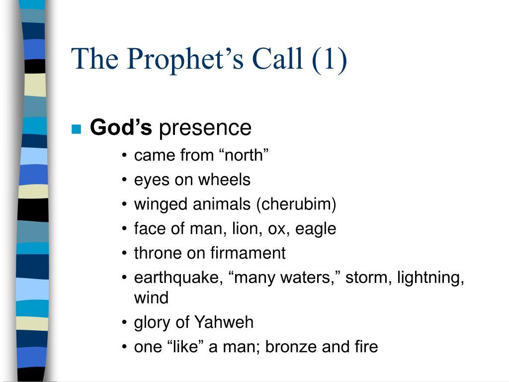The Prophet's Call (1)