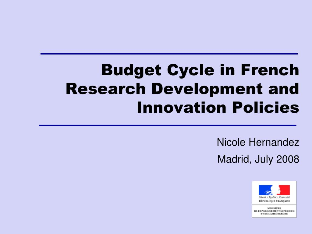 Budget Cycle in French