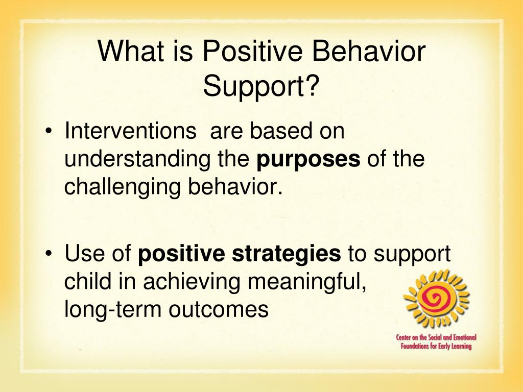 What is Positive Behavior Support?