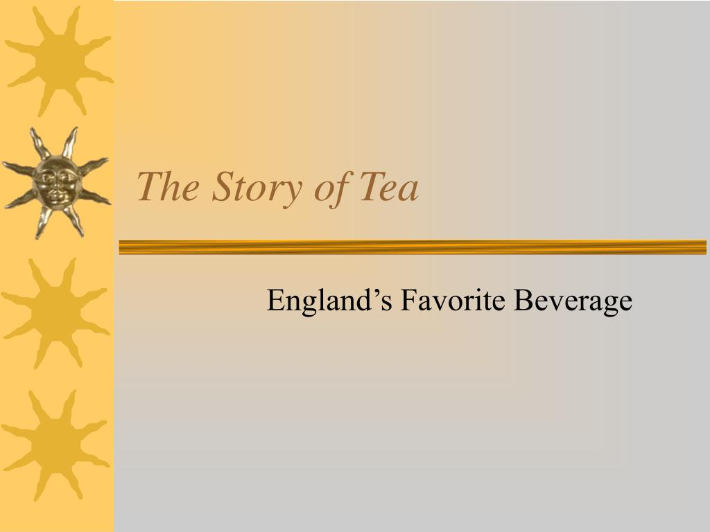 the story of tea l.