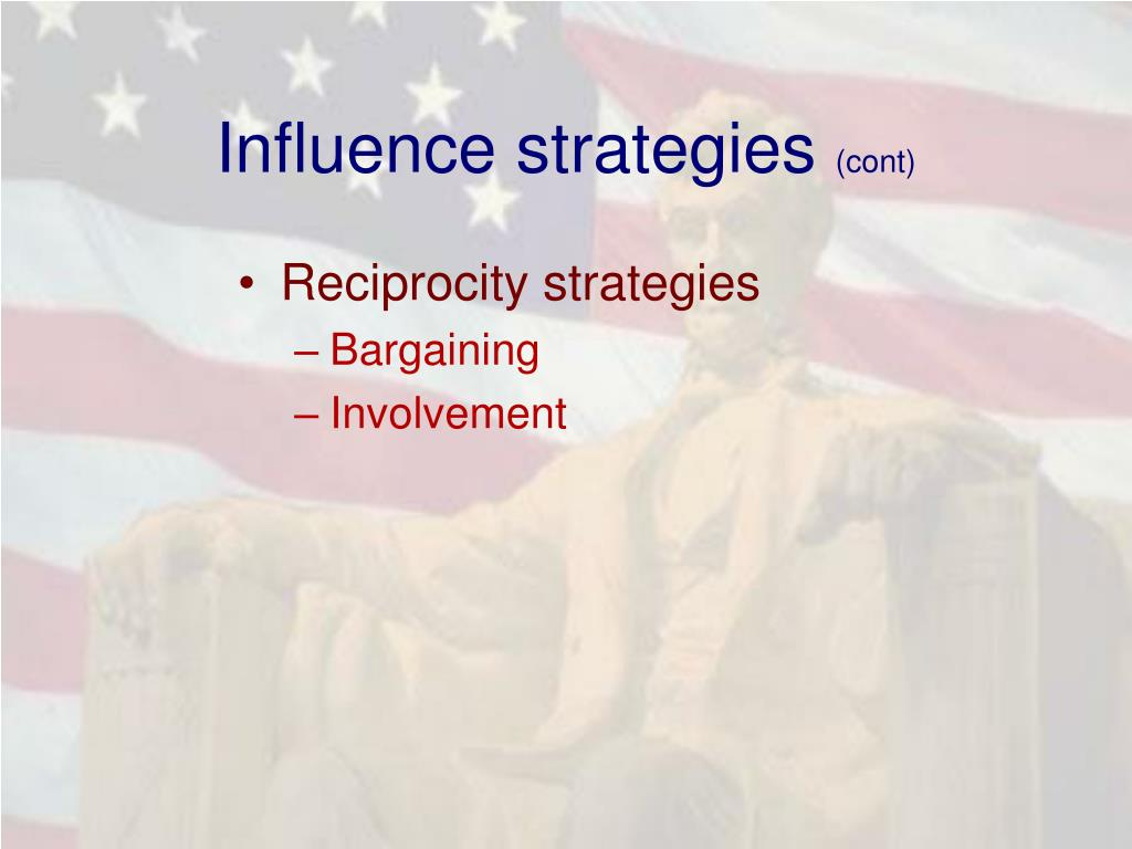 Influence strategies