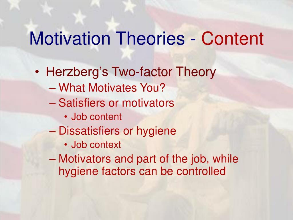 Motivation Theories -