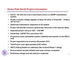 green path north project information